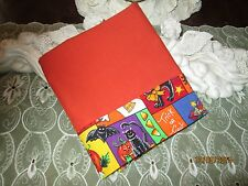 COUNTRY COTTAGE KIDS HALLOWEEN TRICK/TREAT CATS BATS JACK-O-LANTERNS PILLOWCASE