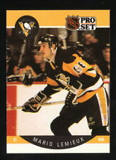 Mario Lemieux--1990-91 Pro Set--Pittsburgh Penguins