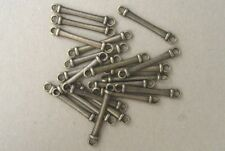 JEWELLERY-BEADS 20 x 30mm (length) Antique Bronze Connectors