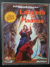 "AD&D"" LABYRINTH OF MADNESS"" TSR #9503  NC 1995 Monte Cook 64 pages"