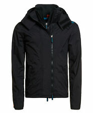 New Mens Superdry Unique Sample Hooded Technical Windcheater Size Large