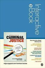 Introduction Criminal Justice Interactive EBook Student Version Systems Div Chng
