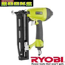 Ryobi 2.5 in. x 16 Gauge Straight Finishing Nailer Pneumatic Nail Gun Tool Kit