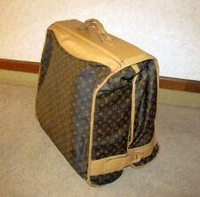 Louis Vuitton LV Monogram Large Garment Bag Travel Luggage Vintage 1970s Suit