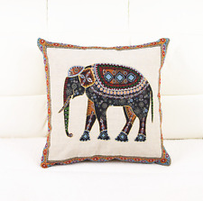 Elephant Cushion Cover - African Theme Style - Brand New - ea8