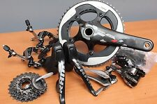 SRAM RED 7pc Group Set 10sp Double Tap Zero Loss + Yaw + DuraAce + X-Glide Crank