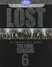 Lost: The Complete Sixth 6th 6 and Final Season [Blu-ray], Brand New, Free Ship!