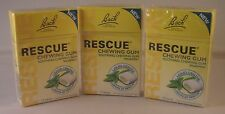 Bach Rescue Remedy Spearmint Chewing Gum 37g THREE PACKS