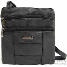 Ladies / Womens Small Soft Nappa Leather Shoulder Bag / Across Body Bag