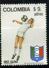 ONCE CALDAS,-FUTBOL OF     COLOMBIA   MNH 1982