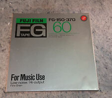 "Fuji FG-150-370 Reel To Reel Tape 7"" New Sealed in factory plastic wrap"