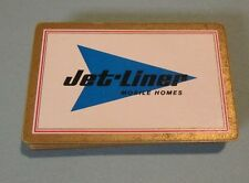 Vintage Jet-Liner Mobile Homes Playing Cards Deck Sikeston Missouri Advertising