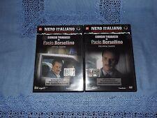 DVD -  GIORGIO TIRABASSI IN PAOLO BORSELLINO - 2 DVD - PRIMA E SECONDA PARTE