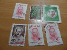 Bundle of vintage Pilipinas / Philippines stamps