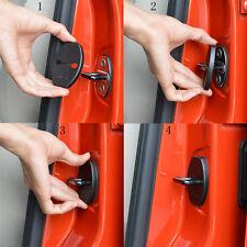 4* Car Door Lock Protective Cover Kit Anti-rust Longlasting For Volkswagen Audi