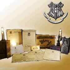 Harry Potter Hogwarts Collectors Christmas Pack - All letters, maps and tickets!