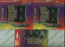 Honda Disc Brake Pads CBR954RR 2002-2003 Front & Rear (3 sets)