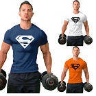 Hot Men Collection Superman Sport Gym T-Shirt Bodybuilding Fittness Cotton Shirt
