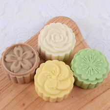 Floral Mooncake Mold Soap Mold Flexible Silicone Cake Mold Icecream Mould R1639