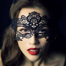 Charm Party Lace Masquerade Ball Women Catwoman Mask Costume
