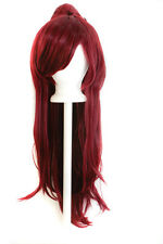 40'' Clip on Pig Tail w/ Short Pony Tailed Base Wig Framing Rustic Red NEW