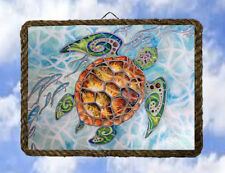 Tropical Beach Ocean 55 Turtle Sea Wall Decor Art Coastal lalarry Ventage