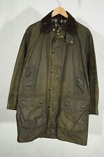 Vintage Barbour Border waxed jacket S C38/97 cm OLIVE