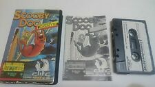 JUEGO CASSETTE SCOOBY DOO COMMODORE 64 CMB 64 C64 PAL 128.