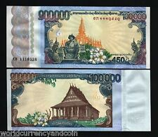 LAOS LAO 100000 100,000 2010 KIP *COMMEMORATIVE* 450 Anny WORLD CURRENCY MONEY