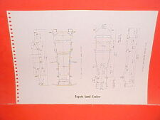1971 TOYOTA LAND CRUISER CORONA RT43L RT52L SEDAN COUPE FRAME DIMENSION CHART