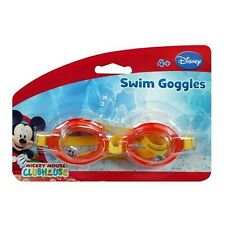 Disney Licensed Mickey Mouse Goggle - 4+ Girls Kids Swim Googles Summer Pool
