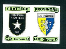 Figurina Calciatori Panini 1984-85! N.579! Scudetti Frattese/Frosinone Nuovo!!