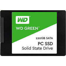 "WD 120GB Green SATA III 2.5"" Internal SSD WDS120G1G0A with 3 Years Warranty---"