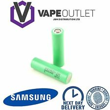 Samsung 25R Genuine INR IMR 18650 High Drain 3.7 2500mAh 20 35A Li Battery VAPE