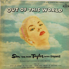 "SAM THE MAN TAYLOR ""Out Of This World"" 7"" EP with cardboard sleeve"
