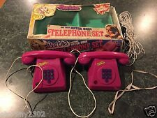 Vintage 1976 Barbie Inter-com Telephone Set  **SUPER RARE**