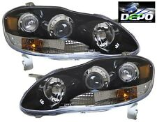 03-08 Toyota Corolla Altis Black Projector Headlights