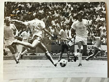 photo press football  World Cup 1970 Brazil-England        344