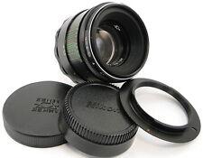 !!NEW! HELIOS 44-2 2/58 Russian Lens Nikon D60 D90 D3000 D3200 D5000 D5100 D5200