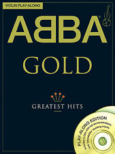 ABBA GOLD for VIOLIN MAMMA MIA Playalong Music Book CD