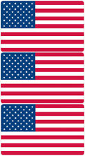 AMERICAN FLAG Old Glory Us Flag American Hard Hat Tool Box Helmet Sticker Decal