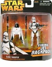 Star Wars: Revenge of the Sith Deluxe Clone Trooper Action Figure FORCE AWAKENS
