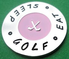 Eat - Sleep - Golf - Ball Markers - Package of 2