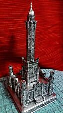 LARGE Chicago Water Tower Replica souvenir building pewter like architecture