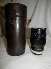 vintage soligor lens F=135mm 1:2.8 screw on mount pentax no.T20571 zoom