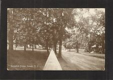 POSTCARD:  SUMMIT, NEW JERSEY - VIEW OF SPRINGFIELD AVENUE - Unused, c.1910