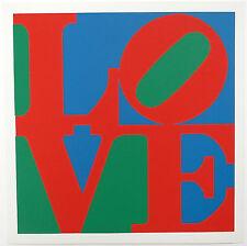 """Robert Indiana schöner Siebdruck 1971 """"LOVE"""""""