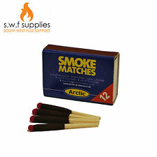 Smoke Test Matches Box Of 12 Flue Woodburner Log Burner Multi Fuel Stove