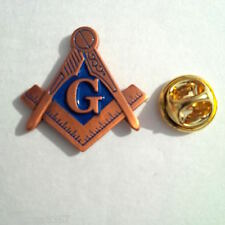 Masonic large Lapel Pin Badge Master mason