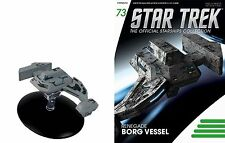 Eaglemoss Diecast Star Trek Renegade Borg Vessel ST0073 TV SERIES & MAGAZINE #73